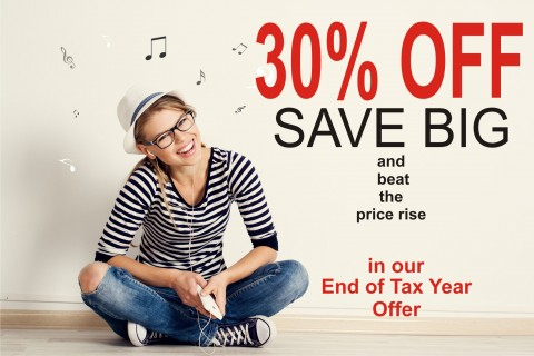 AKM Music,  SALE on our Royalty Free Music until April 6th