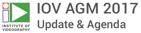 IOV AGM 2017 Update & Agenda
