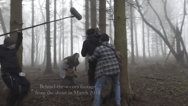 Behind the Scenes on 'The Wryd' by Joe Caneen