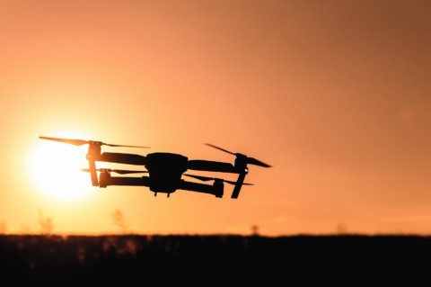 Man saves Drone